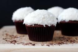 кокосовые шоколадные маффины