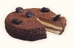 Бисквитный торт из шоколадных конфет