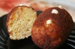 Пирожное Картошка на основе бисквита