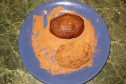 Приготовление формы в виде картошки