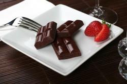 Горький шоколад - лучший десерт