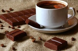 Сочетание кофе и шоколада
