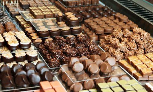 Известный своим качеством швейцарский шоколад
