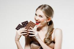 Хорошее настроение при употреблении шоколада