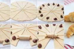 Техника приготовления круассанов с шоколадом