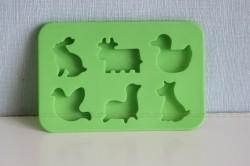 Форма для шоколада в виде животных