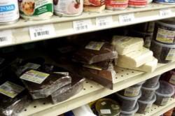 Выбор шоколада кускового