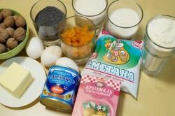 Ингредиенты для приготовления торта