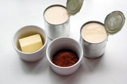 Ингредиенты для шоколадной глазури для торта