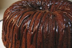 Шоколадная глазурь на пироге