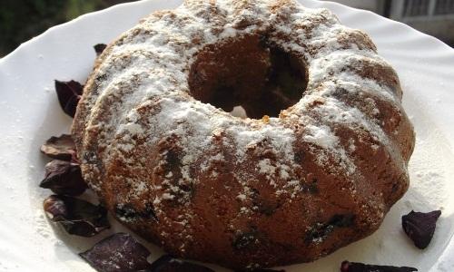 Шоколадный кекс с вишней рецепт