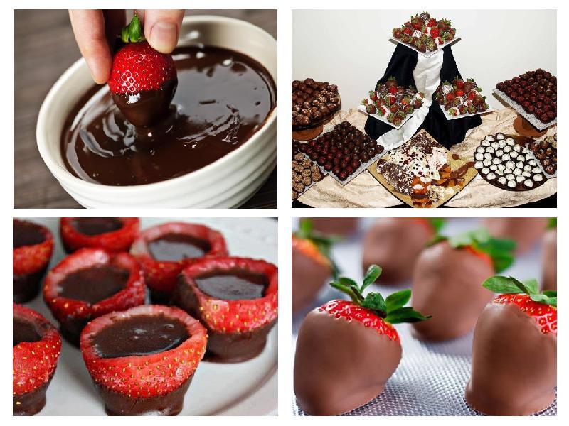 Как сделать фото на шоколадках