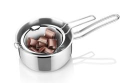 Растапливание шоколада на водяной бане