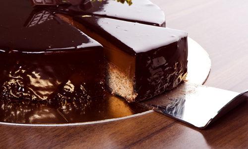 мягкий шоколадный глазурь