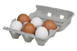 6 яиц для приготовления кулича