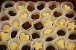 Готовый домашний шоколад