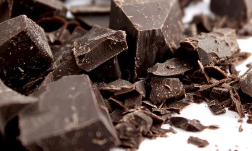 Горький черный шоколад