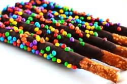 Шоколадная соломка