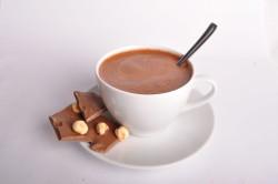 Горячий шоколад с ванилю