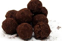 Конфеты ручной работы из горького шоколада