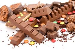 Шоколад - причина аллергии