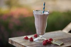 Шоколадный шейк из какао-бобов