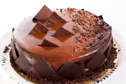 Торт с шоколадным кремом