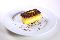 Апельсиновое желе с шоколадом