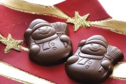 Фигурки из шоколада на Новый Год