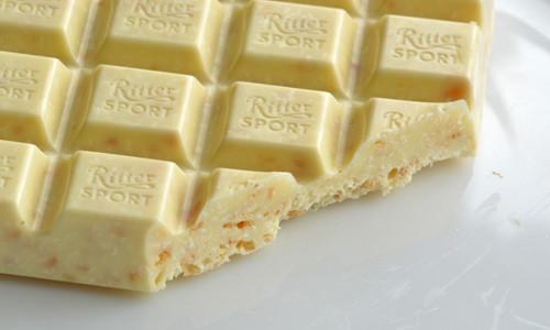 Плитка белого шоколада