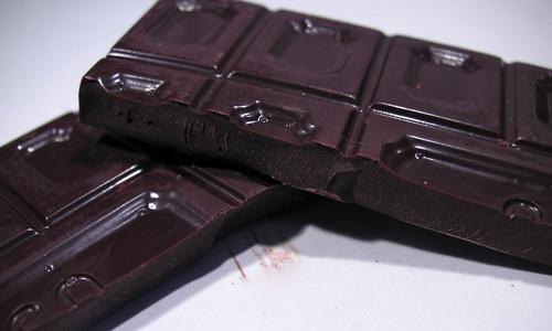 Низкокалорийный горький темный шоколад