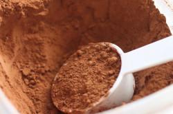 Какао-порошок для приготовления шоколада