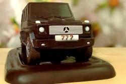 Шоколадная фигурка в виде машины