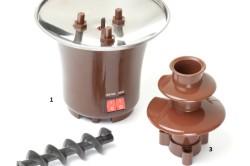 Устройство шоколадного фонтана
