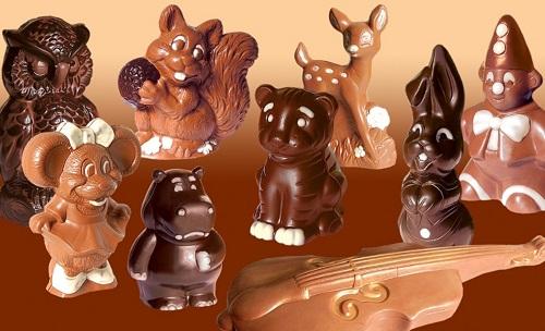 Фигурки сделанные из шоколада