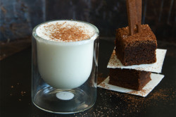 Белый горячий шоколад