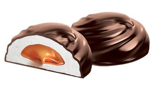 Вкусный зефир в шоколаде