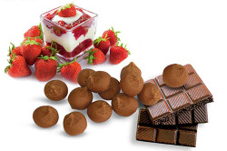 Шоколад с разнообразной начинкой