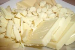 Белый шоколад для приготовления печенья