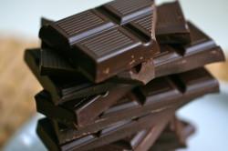 Черный шоколад - основной ингредиент рецепта