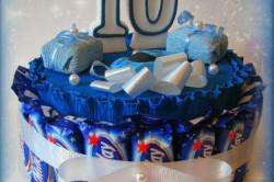 Торт из батончиков Milky Way