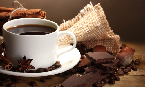 Диета из шоколада и кофе