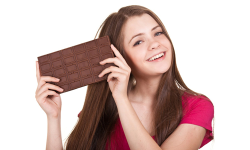 Хорошее настроение от шоколада