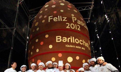 Самое большое в мире шоколадное яйцо