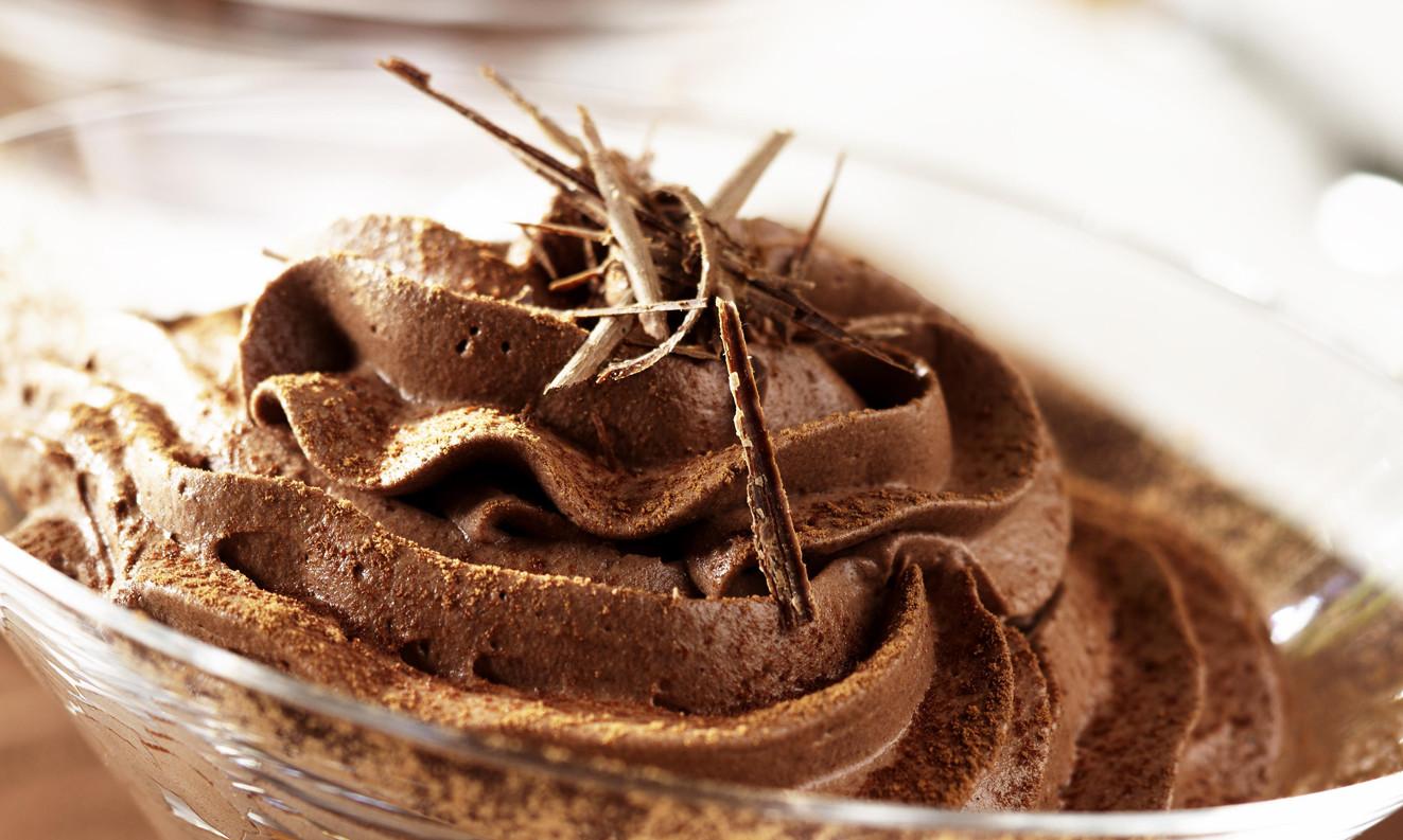 Десерт шоколадный мусс