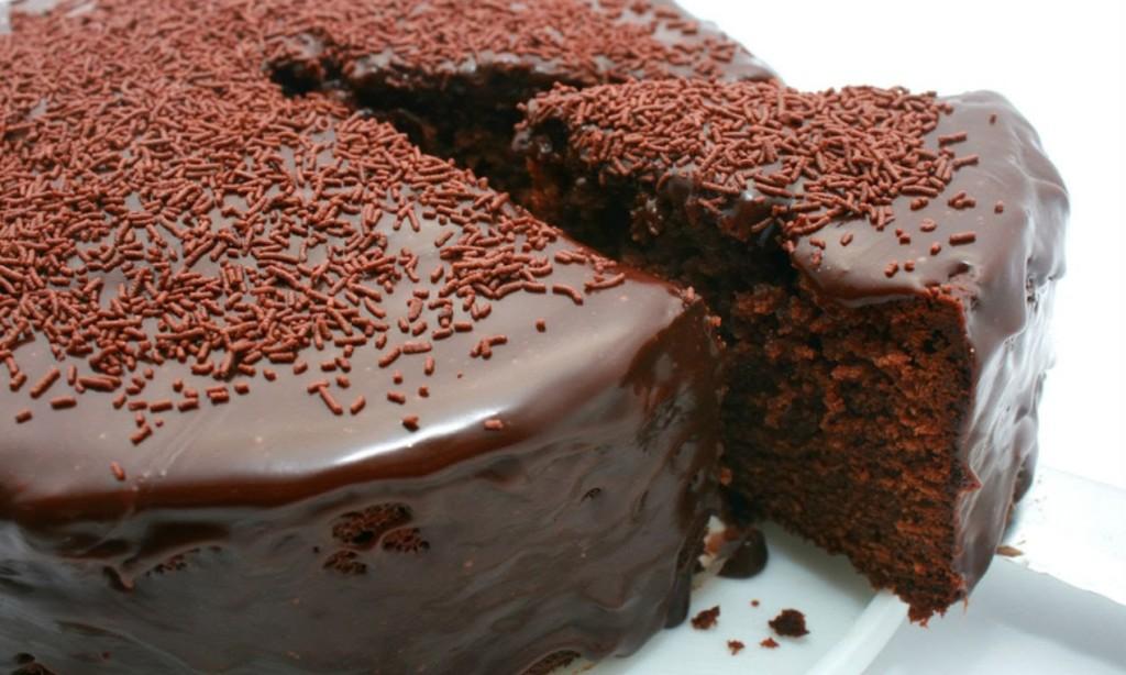 Десерт шоколадный торт
