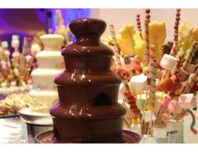 Рецепт приготовления шоколадного фонтана