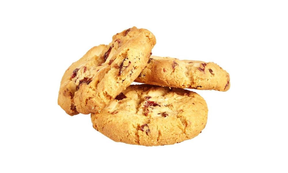 Вкусное печенье с клюквой и шоколадом