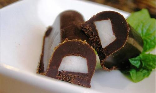 Приготовление сала в шоколаде