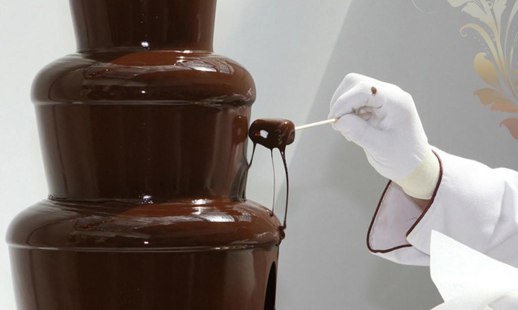 Изготовление шоколадного фонтана